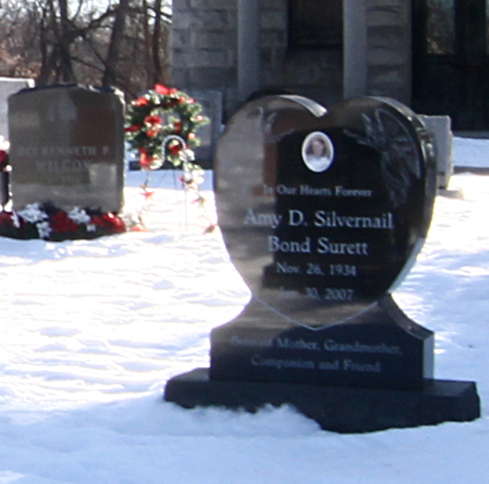 Heartshaped Gravestone