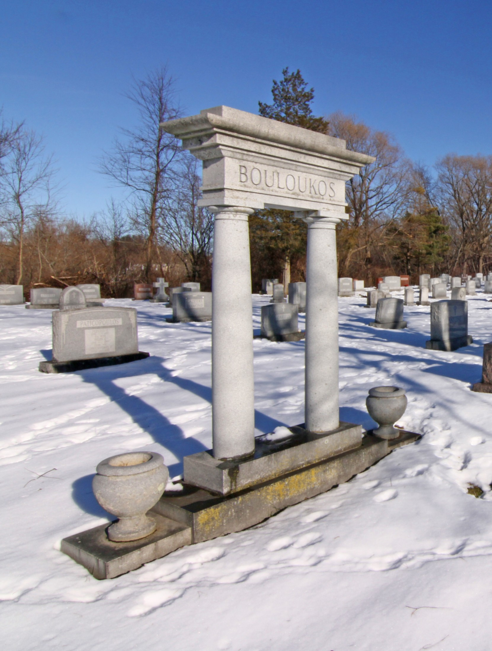 Graceland Cemetery - Winter View