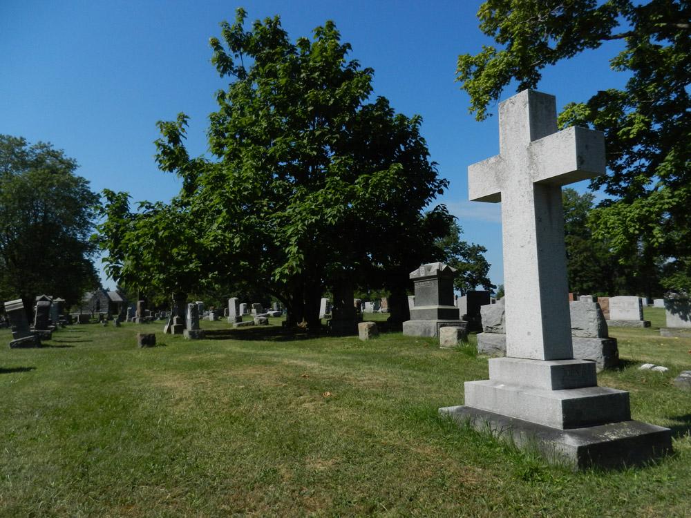 Gravestone at Graceland Cemetery albany ny