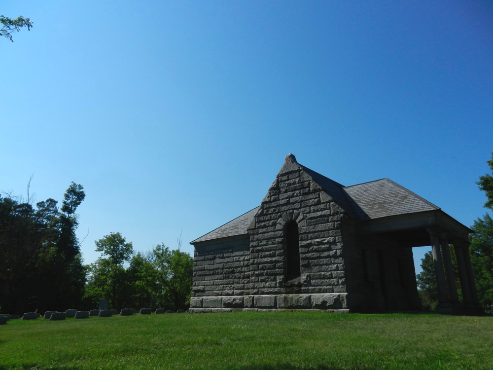 Mausoleum at Graceland Cemetery